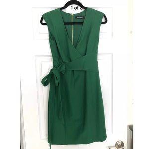 NWOT Ellen Tracy Faux Wrap Dress